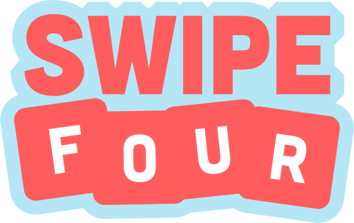 swipe four word game for ios and android